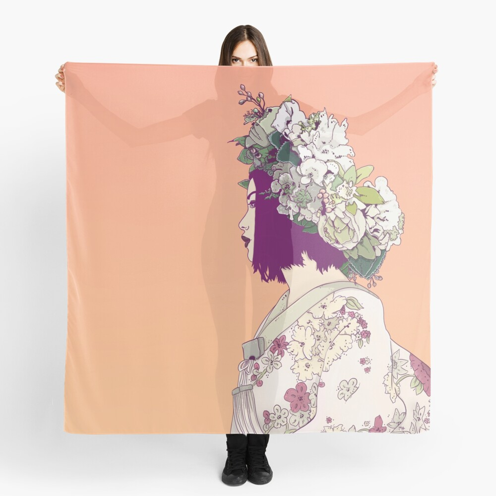 Geisha Under the Sun Scarf