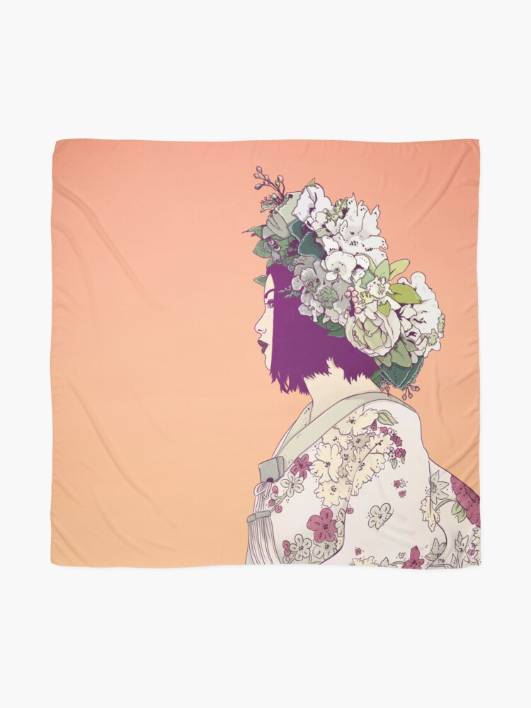 Alternate view of Geisha Under the Sun Scarf