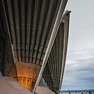 Entrance to Opera House in Sydney by Jola Martysz
