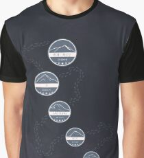 Highest Mountains on Earth Graphic T-Shirt