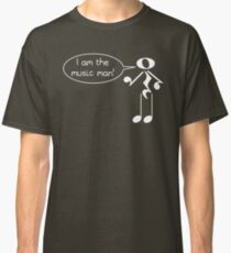 The Music Man - Dark Tees Classic T-Shirt
