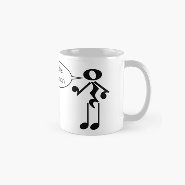 The Music Man - Light Tees Classic Mug