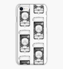 Vintage Falcon Folding Camera iPhone Case/Skin