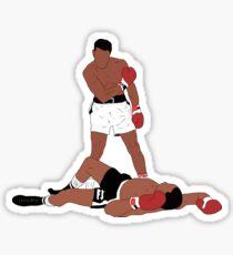 Muhammad Ali Iconic Pose Sticker