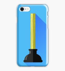 Rubber Plunger iPhone Case/Skin