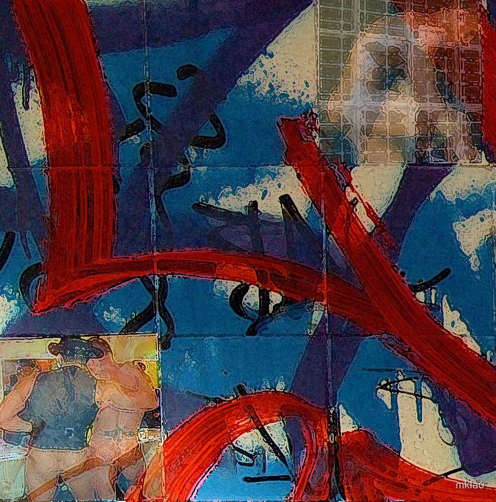 Rozelle Graffiti Wall Stories series .... No 2 by mklau
