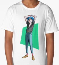 Gorillaz 2D. Long T-Shirt