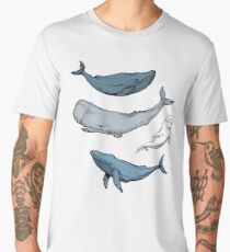 Whales are everywhere Men's Premium T-Shirt