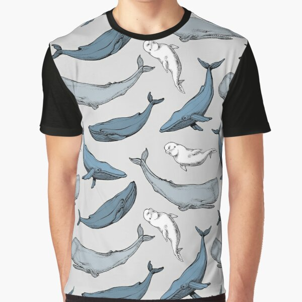 Whales are everywhere Graphic T-Shirt