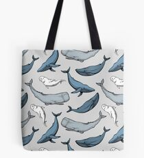 Whales are everywhere Tote Bag