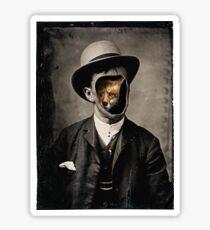 Gentleman Fox  Sticker
