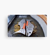 Chinook Fountain Metal Print