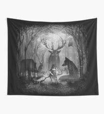 Classical Concerto in the Woods Wall Tapestry
