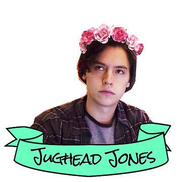 jughead flower crown sticker by lunalovebad
