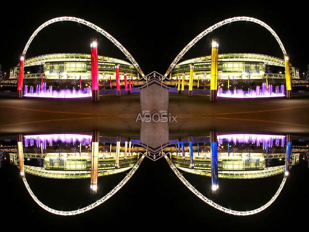 Wembley Stadium Butterfly by A90Six