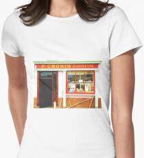 Irish shopfront Women's Fitted T-Shirt