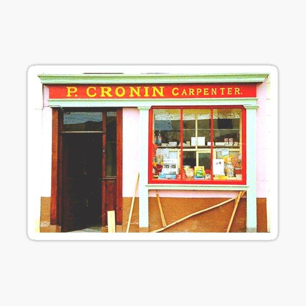 Irish shopfront Sticker