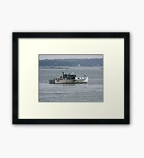 Maine Tradition Framed Print