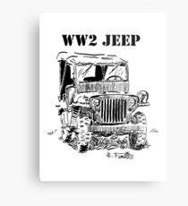 WW2 jeep Metal Print