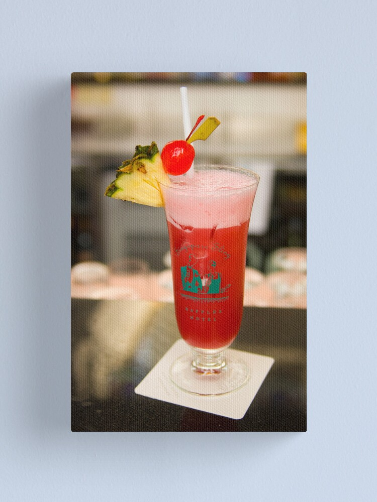 Alternate view of The famous Singapore Sling Canvas Print