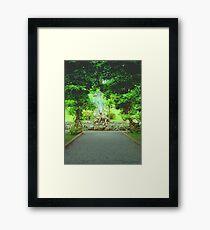 Bantry house gardens Framed Print
