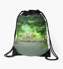 Bantry house gardens Drawstring Bag