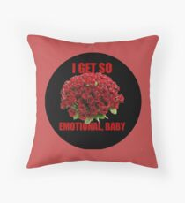 So Emotional Roses Throw Pillow