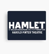Hamlet - Harold Pinter Theatre Canvas Print