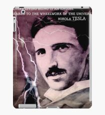 Nikola Tesla - quote iPad Case/Skin