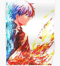 Between Fire and Ice - Shoto Poster