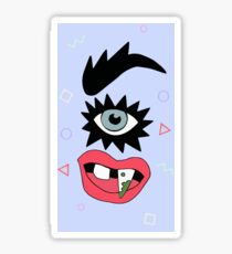 sasha velour eye Sticker