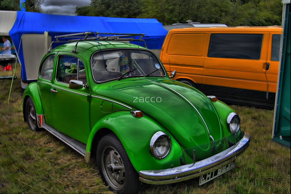 VW green machine bug at caldicot vw fest 08 by zacco