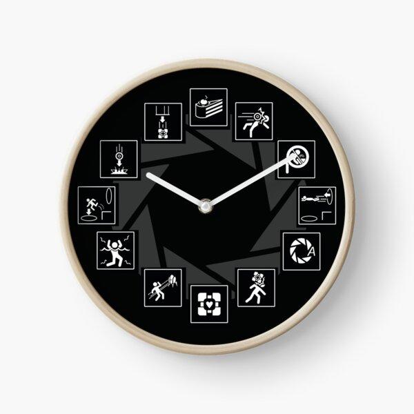 Portal Video Game Horloge