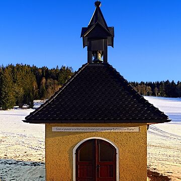 Chapel in winter scenery | architectural photography by patrickjobst