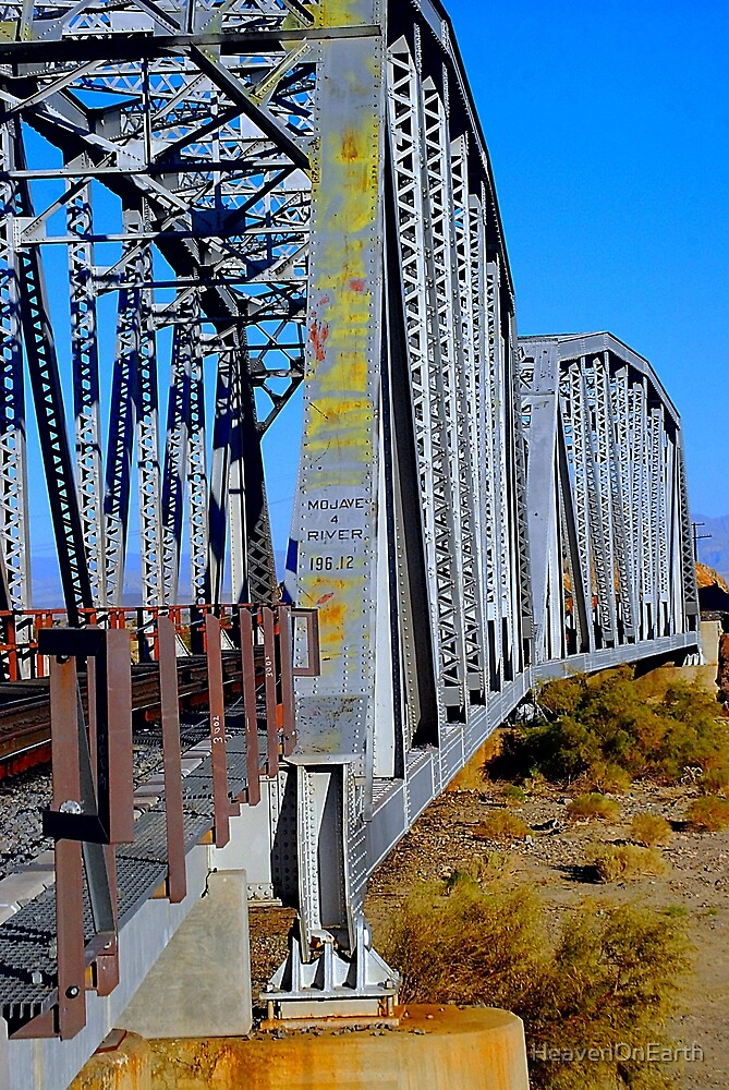 Mojave River Railroad Bridge - Full Bridge View by HeavenOnEarth
