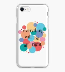 Everything Will Be All Right / Falsettos Dots iPhone Case/Skin