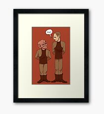 Constable and Deputy Framed Print