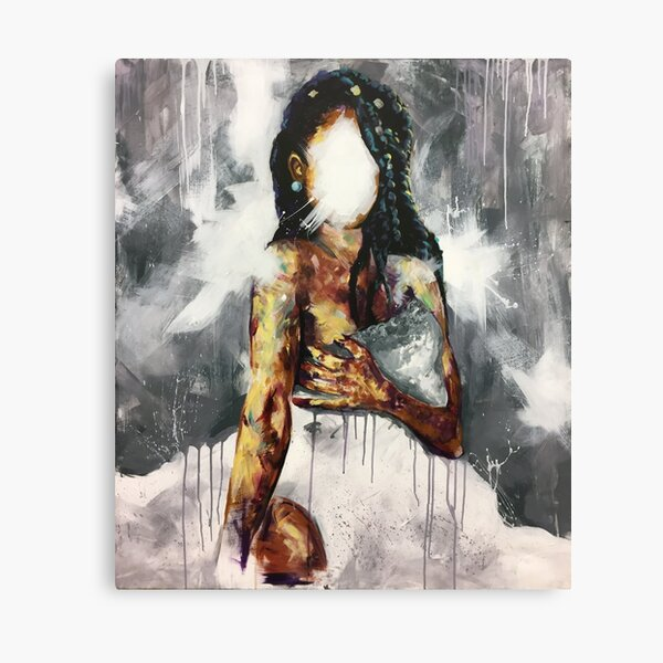 Undressed IV Canvas Print