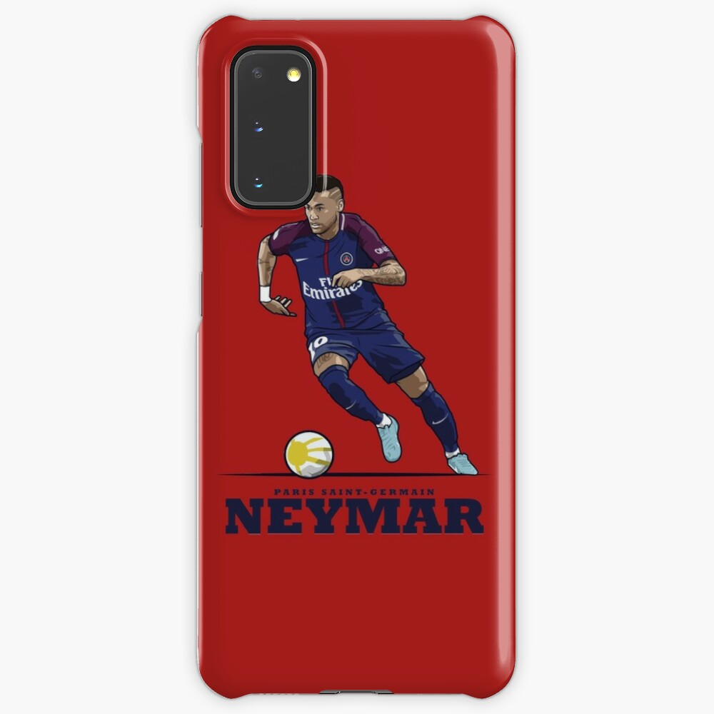 Neymar Jr - Paris Saint-Germain PSG   Coque et skin adhésive Samsung Galaxy
