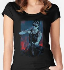 Sarah Connor Women's Fitted Scoop T-Shirt