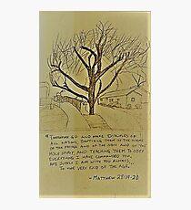 Matthew 28:19-20 Photographic Print