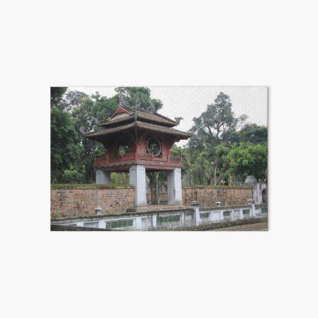 Vietnam Hanoi Literatur Temple Pagode Galeriedruck