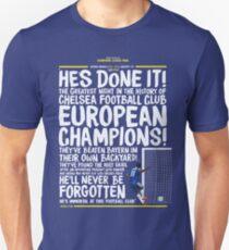 Chelsea FC - Champions League Final Commentary Design Unisex T-Shirt