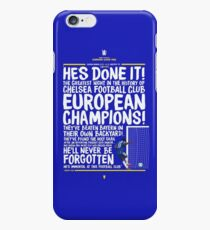 Chelsea FC - Champions League Final Commentary Design iPhone 6s Case