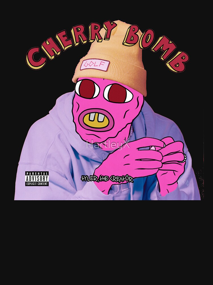 Tyler, The Creator Cherry Bomb- T-Shirt & Various Items by HartleyX