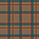 Autumn Chic Plaid by Valerie Hartley Bennett