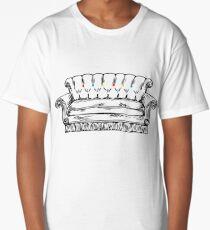 Central Perk Sofa Long T-Shirt