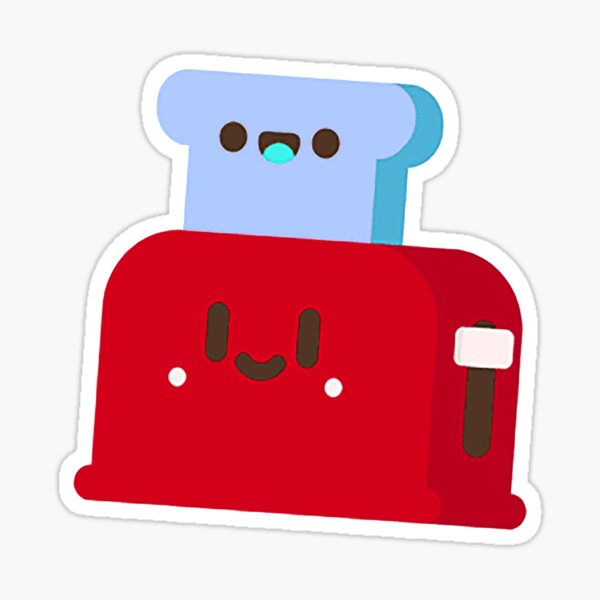 Toasty Inverted Profile Picture Sticker