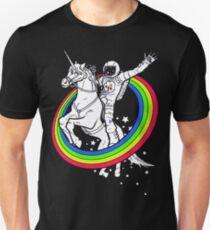 unicorn rider astronaut T-Shirt