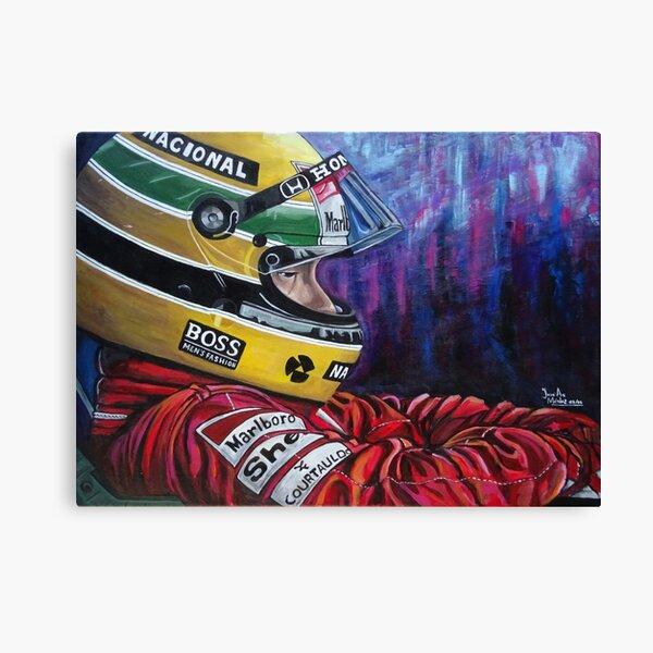 Ayrton Senna  Lienzo